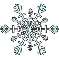Snowflake via openclipart.org