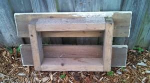 Garden Seat Underside