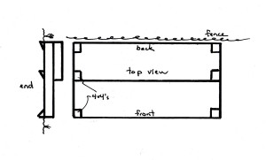 Two-Tier Bed Plan
