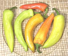 Banana peppers ~ photo credit: www.clovegarden.com