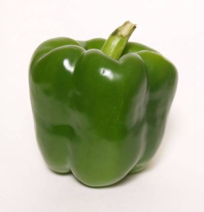 Green bell pepper ~ photo credit: www.clker.com