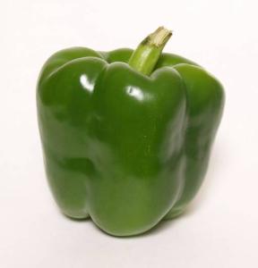 Green bell pepper ~ photo credit: www.clker.com