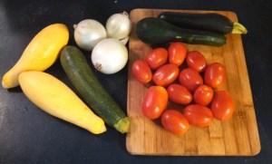 Italian squash veggies