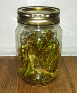 Dried pepperoncini