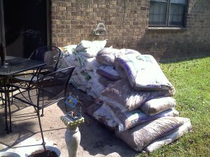 Firepit & Gardening supplies
