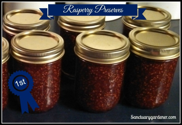Raspberry preserves first place
