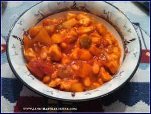 Spicy chicken skillet