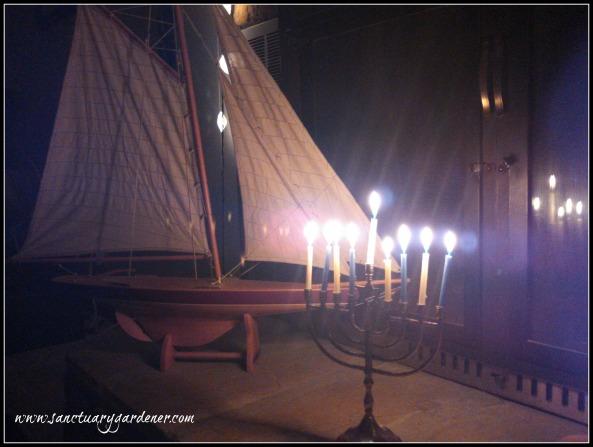 Hanukkiah & Ship 3 SG
