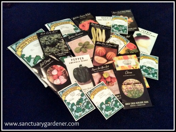 Seed packets SG
