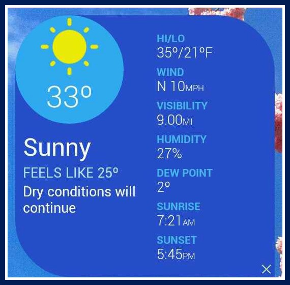 Weather channel 24Jan14 SG