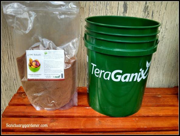 Teraganix bucket & Bokashi