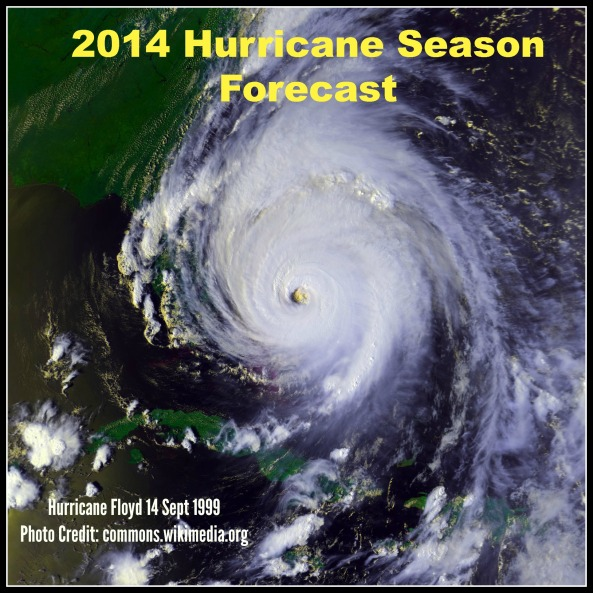 2014 Hurricane Season Forecast pic