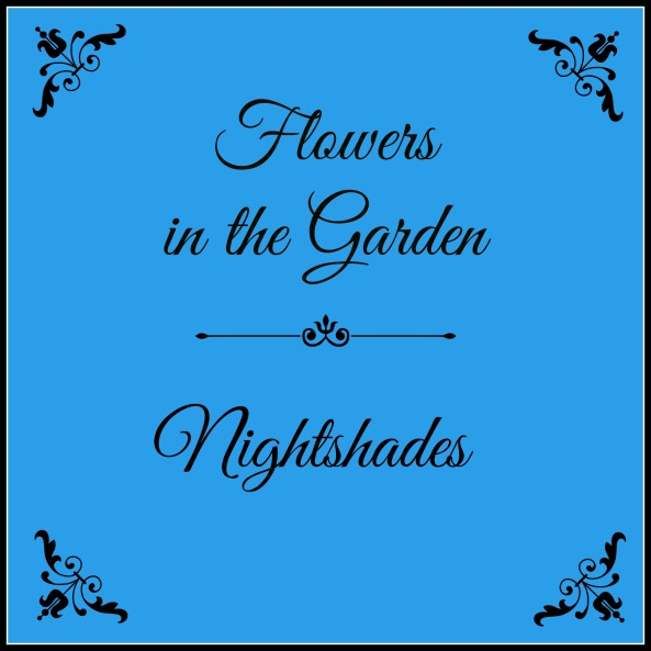 Flowers in the Garden - Nightshades pic