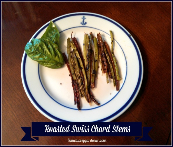 Roasted Swiss Chard Stems Pic