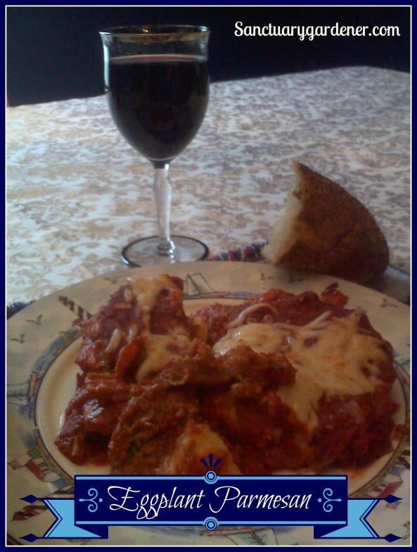 Eggplant parmesan pic