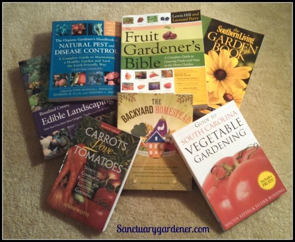 Garden books SG