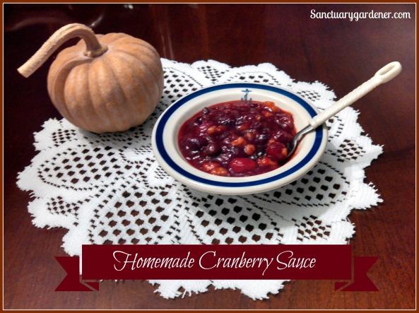 Cranberry sauce pic