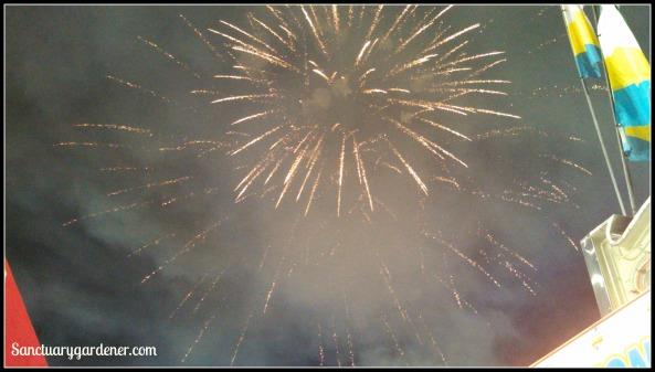 Fireworks at fair