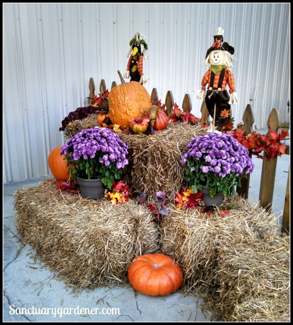 Harvest arrangement outside the agricultural building