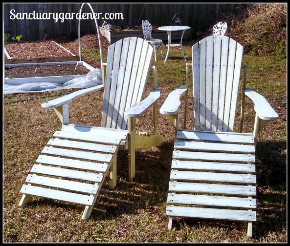 My new Adirondack chairs