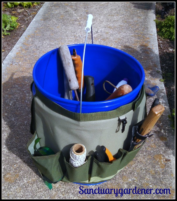 New garden tool bucket & caddy