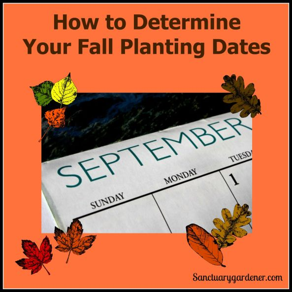 Fall Planting Dates pic