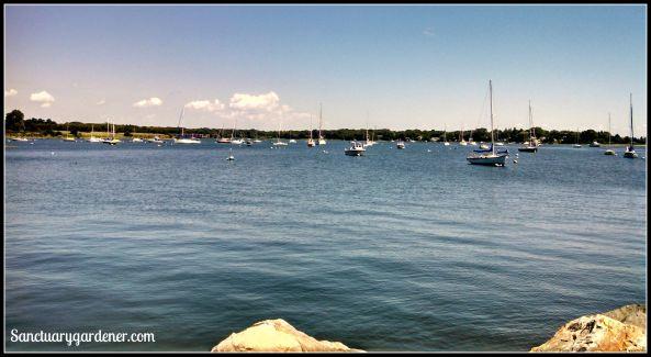 Wickford, RI harbor