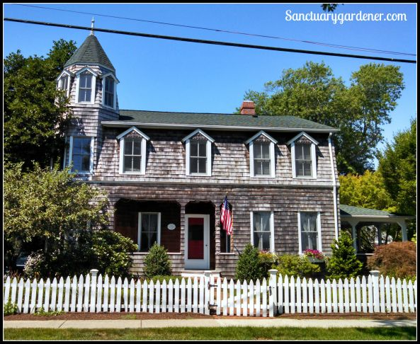 Victorian house in Wickford, RI