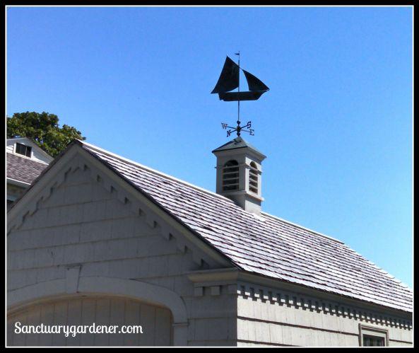 Nautical weather vane in Wickford, RI