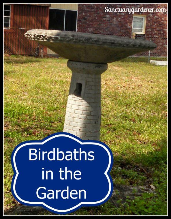 Birdbaths in the Garden pic