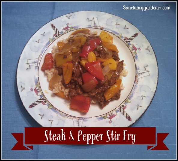 Steak & Pepper Stir Fry pic