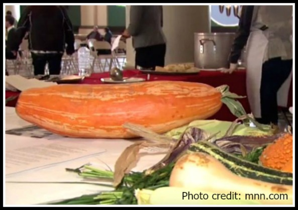 800-year-old squash - named Gete Okosomin