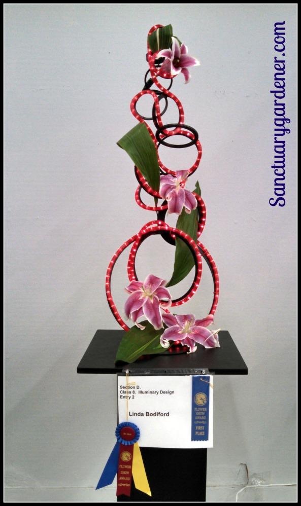 A winning flower arrangement