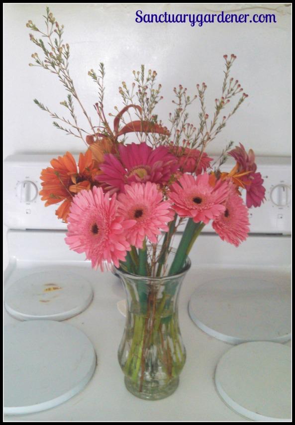 Flowers in my kitchen