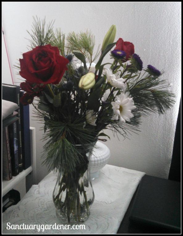 Flowers in my bedroom