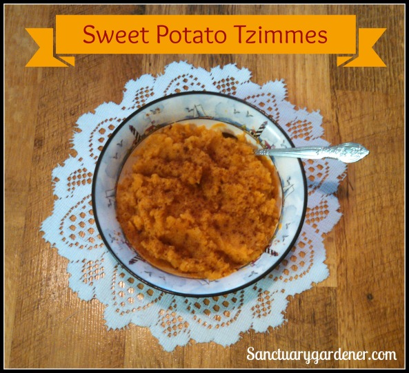 Sweet Potato Tzimmes SG